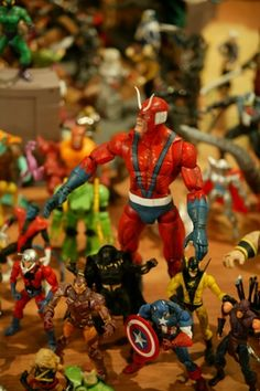 The Toy & Action Figure Museum Like this.
