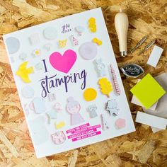 I Love Stamping Book