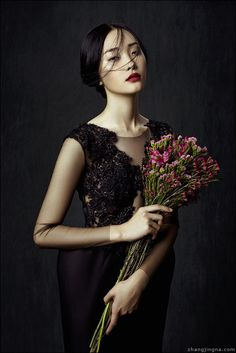 Phuong My FW13/14 Collection: Flowers in December on Behance