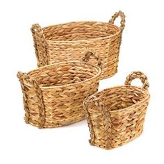 Picture of Country Woven Nesting Baskets