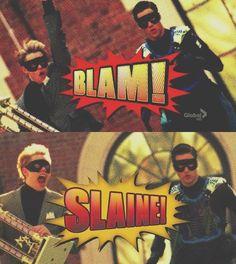 #Glee - Blaine & Sam