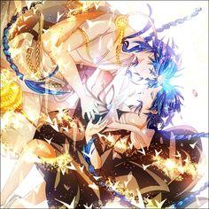 Aladdin (Magi) & Rukh | MAGI: The Labyrinth of Magic #anime