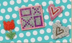 Valentine's Day Melty Bead Shapes
