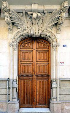 Barcelona - Balmes 084 1 | Flickr this door is to die for