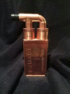 Copper Box mod, dual rda octacoils. Cant say you dont have everything with this mod