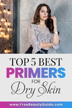 When you have dry skin, you have to be extra careful while applying makeup. Look. Applying Makeup, How To Apply Makeup, Primer For Dry Skin, Beauty Dupes, Beauty Skin, Beauty Hacks, Maybelline Eyeshadow, Best Primer, Facial Cleansing Brush
