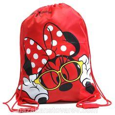 Сумка для обуви OL-8314-1Mi Minnie Mouse красная купить в Украине дешево