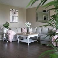 Mitt vakre hjem - Alt om norsk interiør på nett Decor, Furniture, Shabby Chic, Interior, Sectional Couch, Beautiful Homes, Home Decor, Interior Design