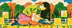 It's Nice That   Kelsey Wroten's tangible illustrations bursting with energy