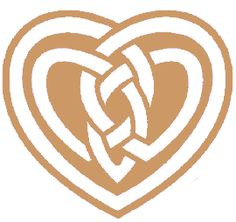 This Celtic symbol is derived from the ancient book of Kells, and symbolizes a mothers love for her child. The design depicts the developing heart of the unborn child inside the large protective heart of the mother.