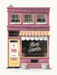 DESIGN A EMPORTER - monstersarewelcome: Mavis Staples Concert Poster...