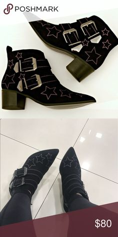 Kurt Geiger star booties Excellent  condition , used once kurt geiger Shoes