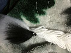 How to make a tail. Fox Tail...Out Of Yarn? - Step 25