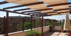 grigliati legno terrazzo - Cerca con Google