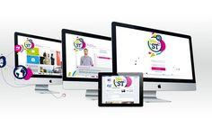 Site événementiel & Brand content digital interne lors de la fusion de ST microelectronics et ST ericsson pour ST micro electronics