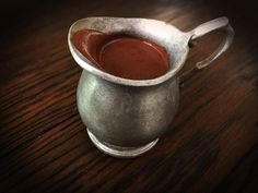 Dark Velvet Drinking Chocolate by pickledcapers #Hot_Chocolate