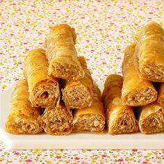 Sari burma - Petits gâteaux arméniens aux noix