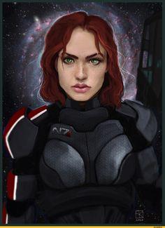 Mass Effect,фэндомы,Femshep,Commander Shepard,ME персонажи,masseffxt