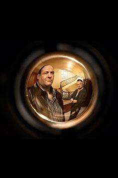 Tony & Paulie. Sopranos.
