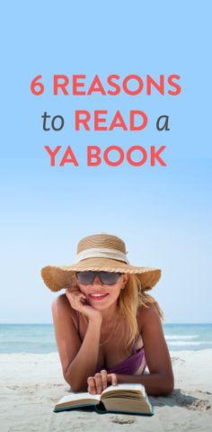 6 reasons to pick up a YA book