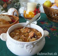 Slovak Recipes, Indian Food Recipes, Ethnic Recipes, Christmas Baking, Christmas Recipes, Chili, Curry, Good Food, Pork