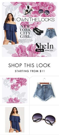 """""""Sheln"""" by edo123 ❤ liked on Polyvore featuring WithChic and Melissa"""