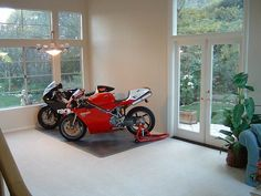 Ducati 996, Ducati Superbike, Moto Ducati, Ducati Motorcycles, Cars And Motorcycles, Cafe Racer Moto, Motorcycle Garage, Hot Bikes, Garage Design