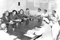 Che Guevara at Planning Commission of India