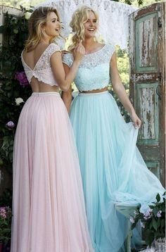 Sky blue 2 ball dress lace sleeveless evening dresses, Shop plus-sized prom dresses for curvy figures and plus-size party dresses. Ball gowns for prom in plus sizes and short plus-sized prom dresses for Sherri Hill Prom Dresses, Prom Dresses 2016, Dance Dresses, Ball Dresses, Ball Gowns, Bridesmaid Dresses, Formal Dresses, Pastel Bridesmaids, 2 Piece Bridesmaid Dress