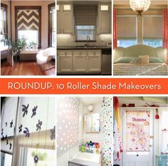 How-To Roundup: 10 DIY Roller Shade Makeovers