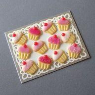 Clay cupcake cookies!