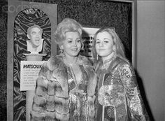 Zsa Zsa Gabor & Daughter