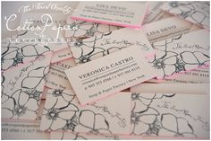 cotton paperie letterpress business cards