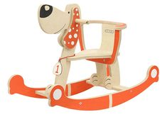 Items similar to Wooden Rocking Horse DOG, Wooden Riding Toy, Kids Toy on Etsy , Wooden Ride On Toys, Wooden Toys, Rocking Horse Plans, Baby Sofa, Wood Stool, Surprise Gifts, Diy Toys, Rocking Chair, Craft Fairs