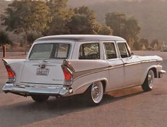1958 Packard Wagon Maintenance of old vehicles: the material for new cogs/casters/gears/pads could be cast polyamide which I (Cast polyamide) can produce