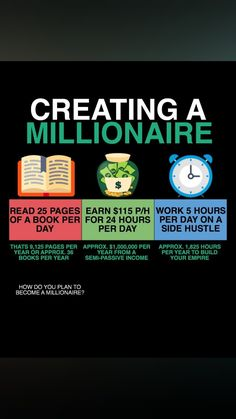 If you want to become a Millionaire, you have to create Millionaire Habits. 🧠 Tag 2 FRIENDS who want financial freedom. Money Tips, Money Saving Tips, Business Money, Business Ideas, Financial Tips, Freedom Financial, Budgeting Money, Investing Money, Business Motivation