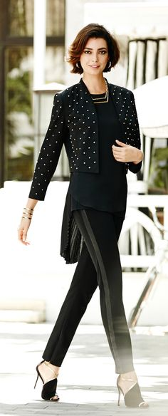 The Studded Jacket. The statement piece that speaks for itself.
