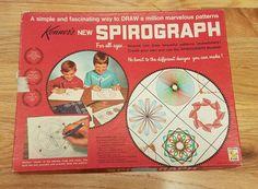 Vintage 1967 Kenner's Spirograph Drawing Set no. 401 Missing 4 Wheels & Pens #Kenner