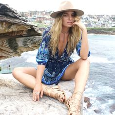 Le Salty Label, ❤️ ORACLE SUNDRESS | DEEP SEA $89.00 AUD, Summer outfits & trends 2017, womens fashion design, Gold Coast lifestyle, Australia, bohemian fashion, beach style, what to wear, boho, gypsy, festival, seaside, fashion styling, pattern, print.