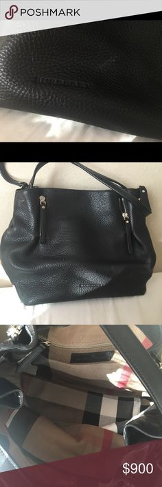 Burberry Bag Bought 2 years ago. Used 3 times. In excellent condition, still smells like new. Burberry Bags Totes