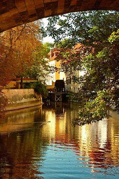 The Water Mill in Prague~photo taken by Jose Maria Cuellar