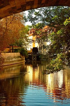 The water mill in Prague... 15 days!