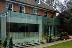 Structural Frameless Glass Extensions
