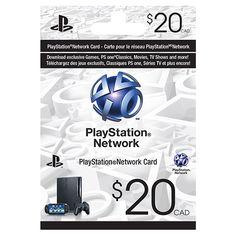Sony $20 PlayStation Network Card