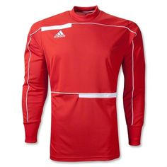 f30f6b518 adidas Freno Long Sleeve Goalkeeper Jersey - Red