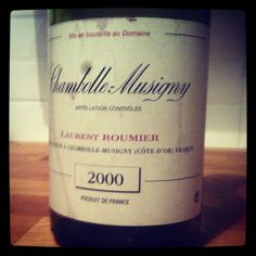 Chambolle Musigny - 2000  Laurent Roumier