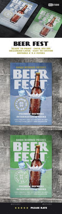 Beer Festival Flyer - Clubs & Parties Events