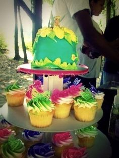 Tinker Bell Cake/Cupcake