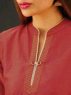 Style Heave: Neck Design For Women Charmed Dress Up Chudi Neck Designs, Neck Designs For Suits, Neckline Designs, Sleeves Designs For Dresses, Dress Neck Designs, Collar Designs, Sleeve Designs, Churidar Neck Designs, Kurta Neck Design