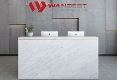 WANBEST is professional manufacture in producing OED ODM artificial stone furniture such as office desk reception desk bar counter dinging table vanity Furniture For You, Custom Furniture, Modern Furniture, Furniture Design, Modern Reception Desk, Modern Desk, Corian Solid Surface, Artificial Stone, Bay Window